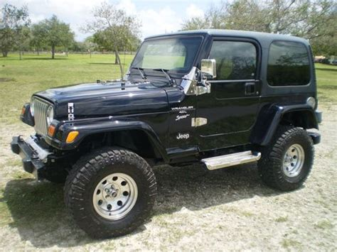 2001 Jeep Wrangler Top Sell Used 2001 Jeep Wrangler Sport Low Black