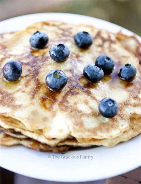 cocinar para diabeticos clean gluten free coconut pancakes receta