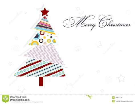 Template Christmas Greeting Card Vector Stock Vector Illustration Of Postcard Branch 34917779 Card Vector Template