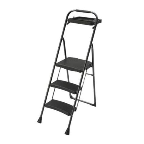 gorilla ladders pro series 3 step steel project stool