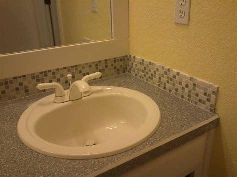 Bathroom Vanity Tile Ideas by Bathroom Vanity Backsplash Tile Ideas Home Design Ideas