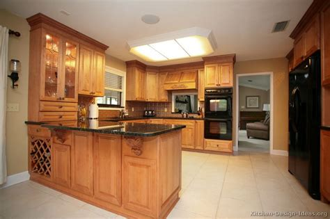 Kitchen Peninsula Designs Pictures Of Kitchens Traditional Light Wood Kitchen Cabinets Page 6