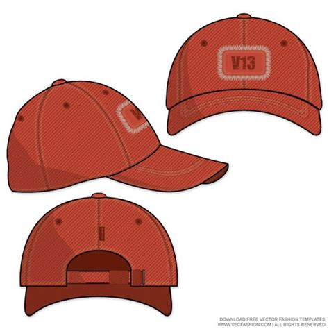 baseball hat drawing clipart best