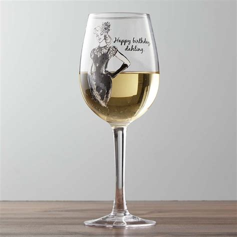 wine glass birthday wine glass happy birthday designs by