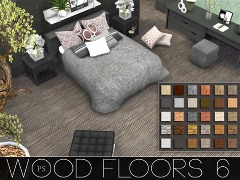 The Sims Resource: Wood Floors 6 by Pralinesims ? Sims 4