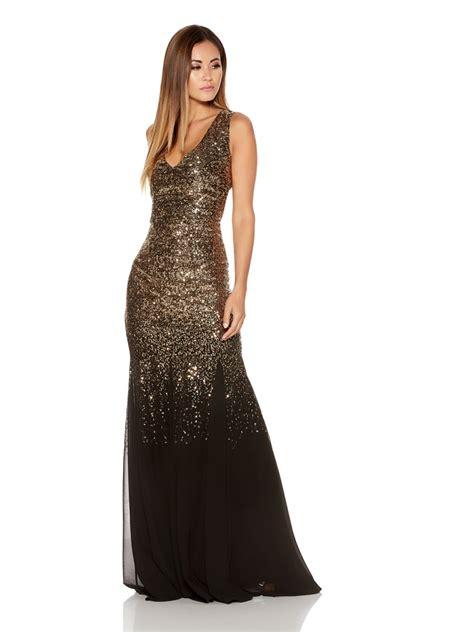 Black Gold Sequin Dress W8242usi D gold and black sequin dress www pixshark images