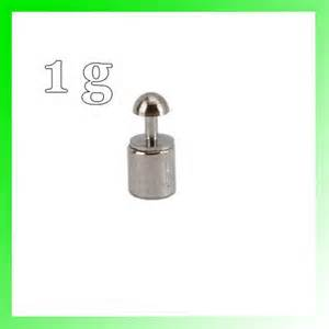 Best Seller 10 Mg 100 Gram Calibration Silver Chrome Weight Balance new 1 gram scale calibration weight weights digital 1g