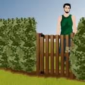 comment poser un portillon en bois