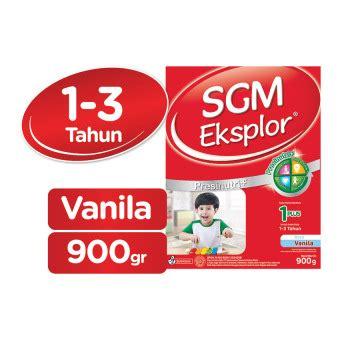 Sgm 1 Vanila sgm eksplor presinutri 1 pertumbuhan vanila