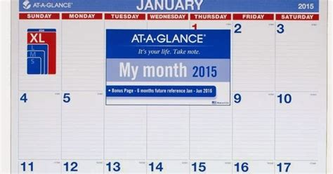 At A Glance Calendar 2015 At A Glance Monthly Wall Calendar 2015 Large Best