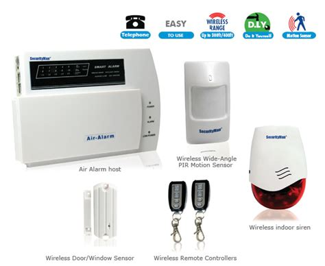 security air alarm dl d i y wireless home alarm