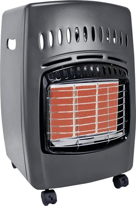 comfort glow gas heater comfort glow gch480 infrared portable cabinet heater