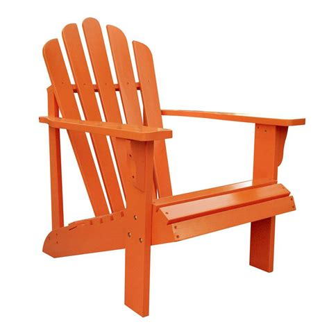 patio adirondack chair shop shine company westport tangerine cedar patio