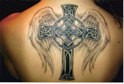 shamrock cross tattoo tribal designs tattoos style