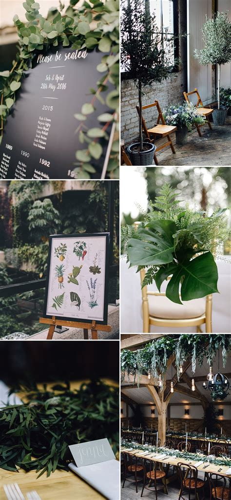 greenery   wedding decor rock  wedding