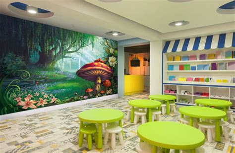 Children Wall Murals childrens play centre wall murals