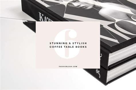 Stylish Coffee Table Books