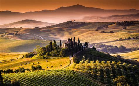 tuscany landscape ultra hd wallpaper uhd wallpapers net