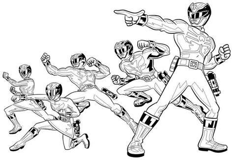 mighty morphin power rangers coloring sheets coloring pages