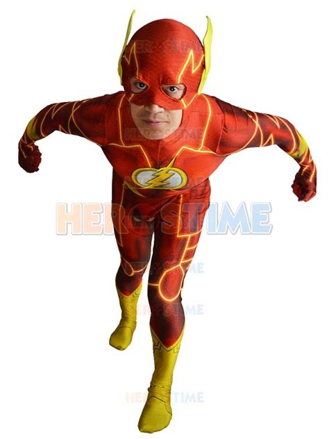 Hexagon Flash Justice League Xxi the new 52 flash costume 3d shade suit