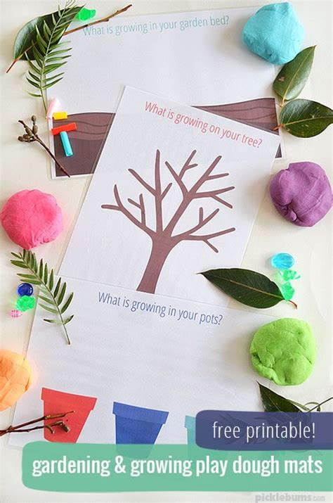 spring printable playdough mats 1000 images about afternoon activity on pinterest