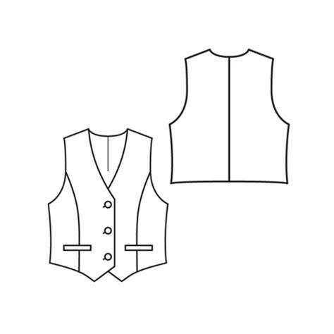 vest template vest 4 2010 135 sewing patterns burdastyle
