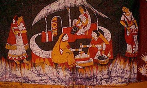 batik design of india crafts of madhyapradesh traditional crafts batik design