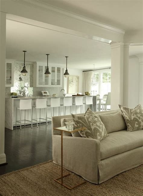 Open Concept Floor Plan   Contemporary   kitchen   Womanista