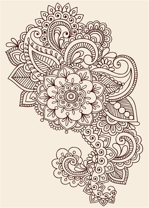 paisley designs paisley henna tattoo design tattoos