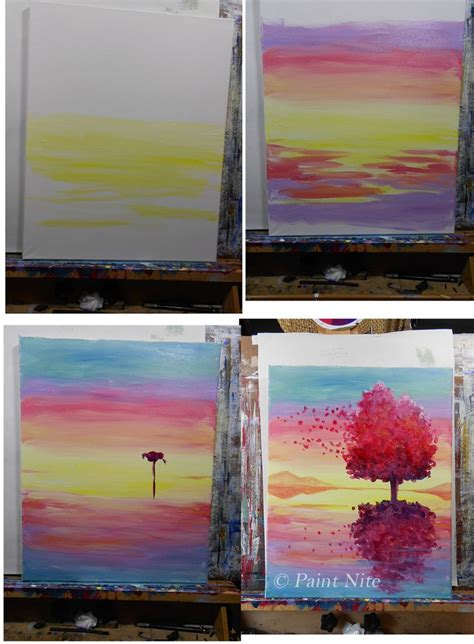 acrylic painting ideas step by step 25 best ideas about beginner painting on