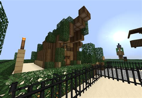 Minecraft Tiki Hut tropical tiki hut screenshots show your creation minecraft forum minecraft forum