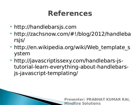 handlebars template tutorial introduction to javascript templating using handlebars js