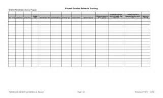 referral tracking template free printable daily appointment sheets calendar