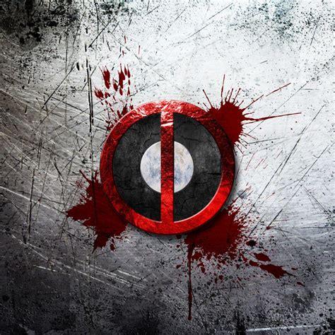 deadpool logo  uhd wallpaper