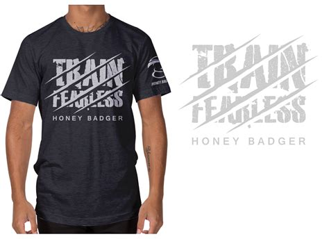 design a shirt llc modern professional fitness t shirt design for honey
