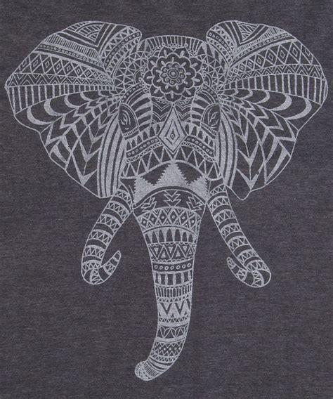 tattoo elephant aztec 25 best ideas about elephant head drawing on pinterest