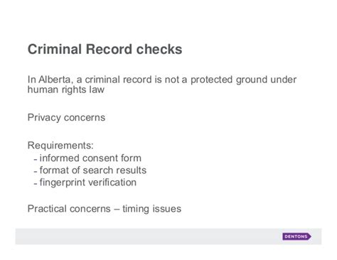 Alberta Criminal Record Check Hiring And Firing Records