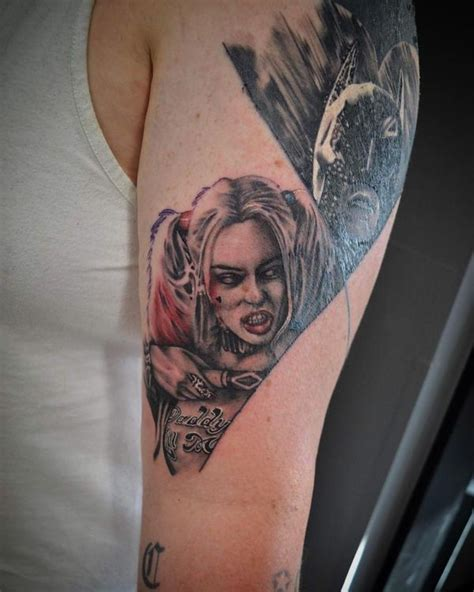 new school harley quinn tattoo 45 harley quinn tattoo design ideas to style your body