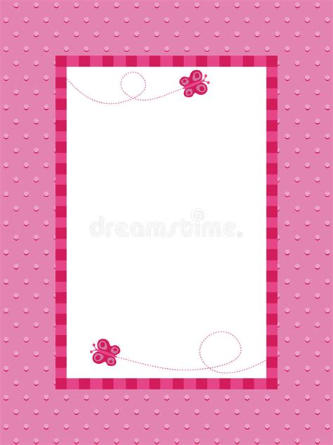 pink polka dot with frame background labs pink polka dot background with frame stock vector