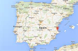where is gandia on map of spain world easy guides