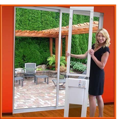 px se series power pet fully automatic patio pet doors