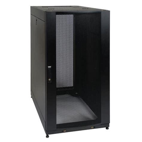 Cabinet Rack by Tripp Lite 25u Rack Enclosure Server Cabinet Doors And