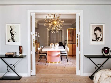 vogue home decor decor inspiration an elegant and chic apartment in