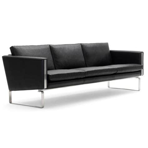 sofa ch hans wegner three seat sofa ch103 modern furniture