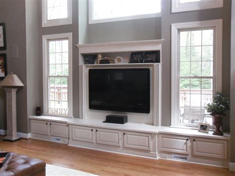 Houzz Small Bathrooms Ideas by Built In Entertainment Center In Great Falls Va