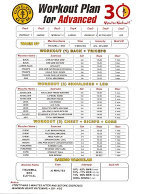 golds gym the fan schedule golds gym workout schedule workout everydayentropy com