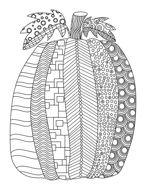 free pumpkin coloring pages for adults fall free printable adult coloring pages pat catan s blog
