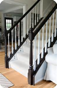 banister staircase 25 best ideas about banister remodel on