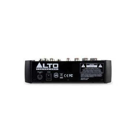 Mixer Alto Zmx 862 alto zmx 862 6 channel compact mixer b stock