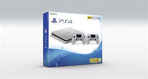 Ps 4 Ps4 Slim 500 Gb Silver Original Garansi Resmi Sony Pes 2018 buy playstation 4 slim console 500gb silver 2 dualshocks playstation 4 free shipping